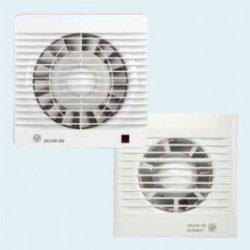 AIRVENT DECOR 100 CR helyi elszívó csendes ventilátor időzítővel / időkapcsolóval