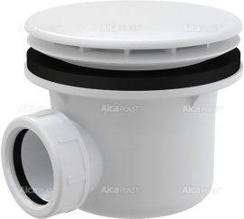 AlcaPLAST A49B Fehér zuhanytálca szifon, Ø90 mm-es leeresztő nyílással, túlfolyó nélküli zuhanytálcákhoz, 8594045930610