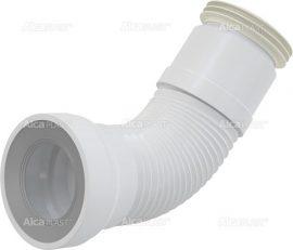AlcaPLAST A970 Flexi csatlakozás WC-hez, 8595580528560