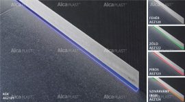 AlcaPLAST AEZ123-850 ALCA LIGHT  Piros színű megvilágítása, az APZ5 SPA Padlófolyókának
