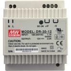AlcaPLAST AEZ311, Hálózati tápegység 230V AC/12V DC/30W, IP20, 8595580531416