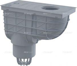 AlcaPLAST AGV1S Univerzális szennyvíz felfogó 300 × 155/110 közvetlen, szürke, 8595580519254
