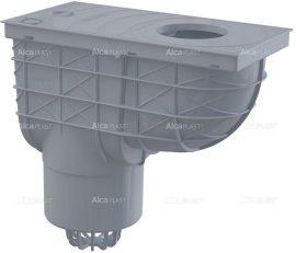 AlcaPLAST AGV2S Univerzális szennyvíz felfogó 300 × 155/125 közvetlen szürke, 8595580519278