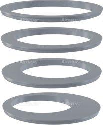 AlcaPLAST AGV900S Távtartó gyűrűkészlet – szürke, kültéri, 8595580520687
