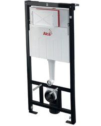 AlcaPLAST AM101/1120 (A101/1200) Sádromodul falba építhető / beépíthető / falsík alatti / befalazható WC tartály könnyűszerkezetes / gipszkarton falhoz / szerelőkerettel / keretes , 8595580549398