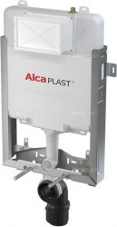 AlcaPLAST AM1115/1000 Renovmodul Slim - falba építhető / beépíthető / falsík alatti / befalazható WC tartály, 8595580551292