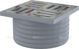 AlcaPLAST APV0900 rozsdamentes fedrács, a leeresztő csatlakozóaljzata, rács 105 × 105 APV26, APV26C számára, 8595580522193