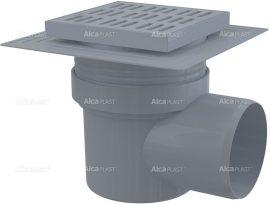 AlcaPLAST APV10 műanyag oldalsó kifolyású padlólefolyó, 8594045937237