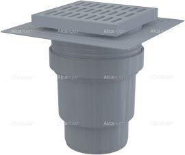 AlcaPLAST APV11 műanyag alsó kifolyású padlólefolyó, 8594045937183