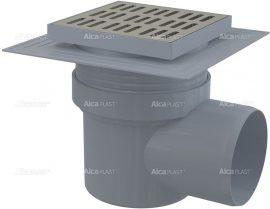AlcaPLAST APV12 oldalsó kifolyású rozsdamentes padlólefolyó, 8594045937190