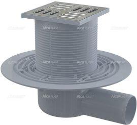 AlcaPLAST APV1321 oldalsó kifolyású rozsdamentes padlólefolyó, 8595580518462