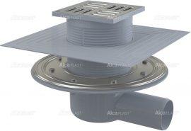 AlcaPLAST APV1324 oldalsó kifolyású rozsdamentes padlólefolyó, 8595580518479