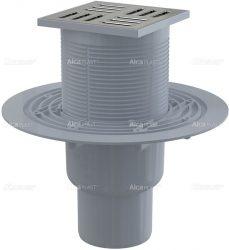 AlcaPLAST APV201 alsó kifolyású rozsdamentes padlólefolyó, 8594045930375