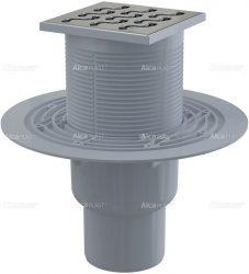 AlcaPLAST APV202 alsó kifolyású rozsdamentes padlólefolyó, 8594045930429