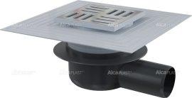 AlcaPLAST APV26C oldalsó kifolyású rozsdamentes padlólefolyó, 8595580507008
