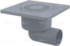 AlcaPLAST APV3 műanyag oldalsó kifolyású padlólefolyó, 8594045937244