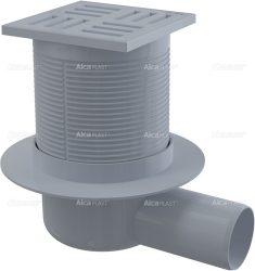 AlcaPLAST APV5111 műanyag oldalsó kifolyású padlólefolyó, 8595580507060