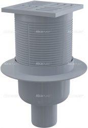 AlcaPLAST APV6111 műanyag alsó kifolyású padlólefolyó, 8595580507084