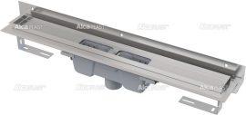 AlcaPLAST  APZ1004-550 Flexible Zuhanyfolyóka / falhoz beállítható peremmel / alaptest