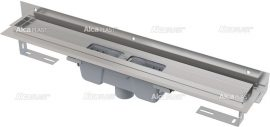 AlcaPLAST  APZ1004-650 Flexible Zuhanyfolyóka / falhoz beállítható peremmel / alaptest