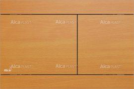 AlcaPLAST FUN BEECH Nyomólapok falba építhető rendszerekhez, fa dekor-matt fém, 8595580530624