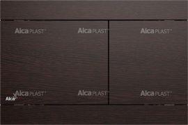 AlcaPLAST FUN WENGE Nyomólapok falba építhető rendszerekhez, fém-matt, 8595580531119