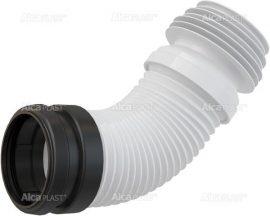AlcaPLAST M9006 Szennycsatorna könyök 90/110 flexibilis WC bekötő, univerzális, 8595580512644