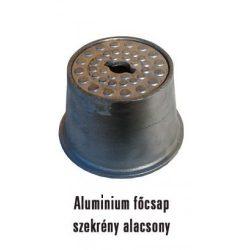 Alumínium fedeles / tetős / kerti csapszekrény / főcsapszekrény / csatornaszem / alacsony / csap tartó / csapelzáró / kerti csaphoz
