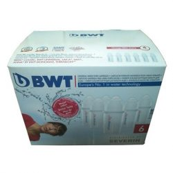 BWT Aquadrink Mg2+ Universal szűrőbetét 6 pack / 6 db-os csomag, régi típusú kancsóhoz, Cikkszám: 814436/6