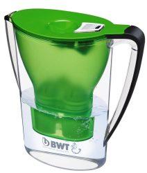 BWT Mg2+ 2,7 l longlife asztali vízszűrő kancsó zöld, digitális kijelző / Penguin / Cikkszám: 815072