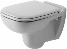 DURAVIT mélyöblítésű fali wc, fehér, ülőke nélkül / 253509 / 25350900002 (220909 utódja)