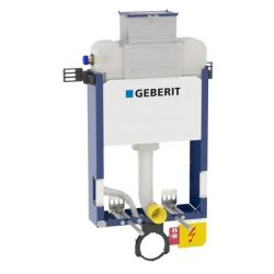 Geberit alacsony (98cm) Kombifix WC szerelőelem fali WC részére, Kappa öblítőtartállyal / 110.255.00.1 / 110255001