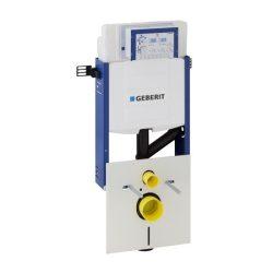 Geberit Kombifix Sigma WC szerelőelem / befalazható wc tartály fali WC részére Sigma 12cm-es öblítőtartállyal, szagelszívási lehetőséggel, 110.367.00.5 / 110367005