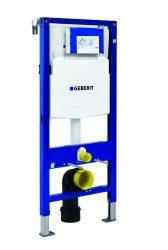 GEBERIT Duofix szerelőelem fali wc részére, UP 320 öblítőtartállyal 111.300.00.5 / 111300005 ZWC védőcsővel, gipszkartonos szereléshez, keretes, nyomólap nélkül