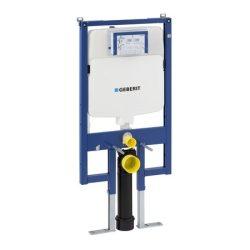 Geberit Duofix WC szerelőelem fali WC részére Sigma 8-cm-es (UP720) öblítőtartállyal, vékony / 111.796.00.1 / 111796001, régi cikkszám: 111.726.00.1 / 111726001