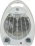 Heller HL706 ventilátoros hősugárzó, 2 fűtési fokozat (1000 / 2000 W), állítható termosztátos, fehér színű