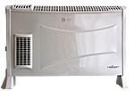 Heller K360 T elektromos konvektor / fűtő készülék turbó ventilátorral, 2 fűtési fokozatú, 800-2000W-os, álló vagy fali kivitel