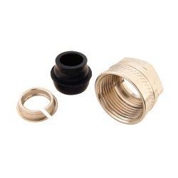 HERZ roppantógyűrűk acél és réz csövekhez, lágy tömítéssel, szorítógyűrű, BM, belső menetes, 6276 / 1627615 / 1 6276 15