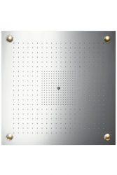 HansGrohe AXOR  Starck ShowerHeaven 970 x 970 mm 3jet fejzuhany DN20 / világítással / rozsdamentes acél / 10623800 / 10623 800