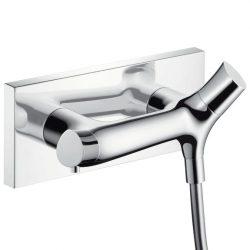 HansGrohe AXOR Starck Organic termosztátos zuhanycsaptelep / falsíkon kívüli szereléshez / króm / DN15 / 12602000 / 12602 000