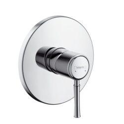 HansGrohe Talis Classic Egykaros, falsík alatti zuhanycsaptelep színkészlet / króm / 14165000 / 14165 000
