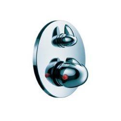 HansGrohe Ecostat E termosztátos csaptelep színkészlet falsík alatti szereléshez, elzárószeleppel / króm / 15700000 / 15700 000