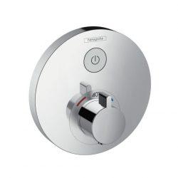 HansGrohe ShowerSelect S termosztátos csaptelep / falsík alatti szereléshez / 1 fogyasztóhoz / 15744000 / 15744 000