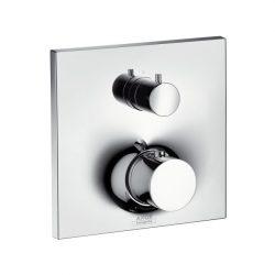 HansGrohe AXOR Massaud termosztátos csaptelep / falsík alatti szereléshez / elzáró- és váltószeleppel / króm / 18750000 / 18750 000