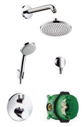 HansGrohe Croma 160 fejzuhany zuhanyszett / DN15 / króm / 26473000 / 26473 000