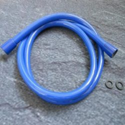 HansGrohe Isiflex zuhanycső / zuhany gégecső 1,60 m / 160 cm DN15 / 28276330 / 28276 330, kék színű