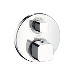 HansGrohe Metris termosztátos színkészlet / falsík alatti szereléshez / elzáró- és váltószeleppel / 31573000 / 31573 000