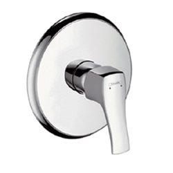 HansGrohe Metris Classic Egykaros, falsík alatti zuhanycsaptelep színkészlet / króm / 31676000 / 31676 000
