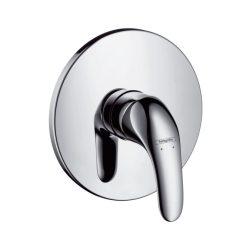 HansGrohe Focus E Egykaros, falsík alatti zuhanycsaptelep színkészlet / króm / 31761000 / 31761 000