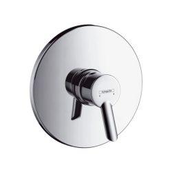 HansGrohe Focus S Egykaros, falsík alatti zuhanycsaptelep színkészlet / króm / 31763000 / 31763 000